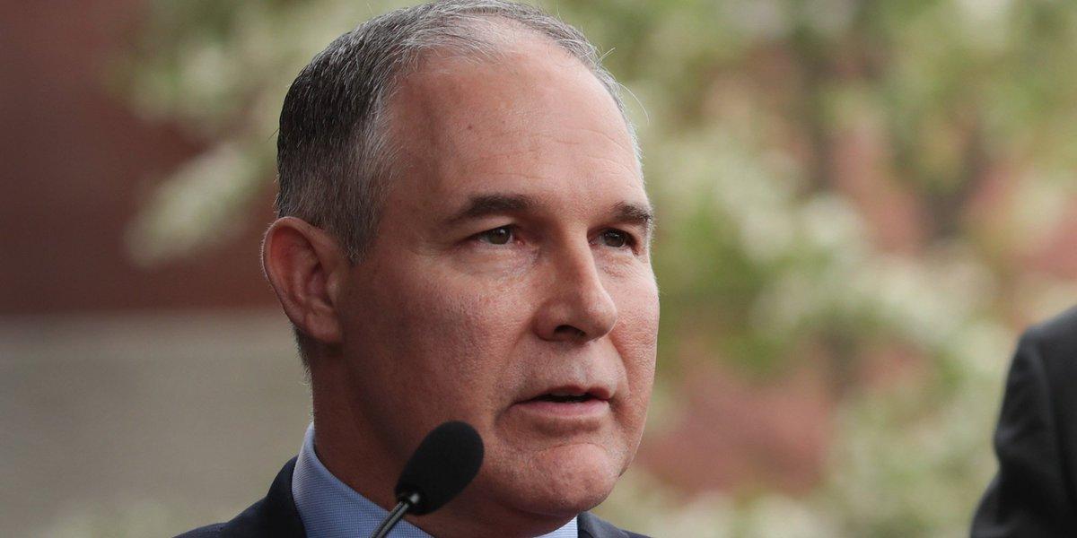 EPA chief Scott Pruitt continues dirty energy tour