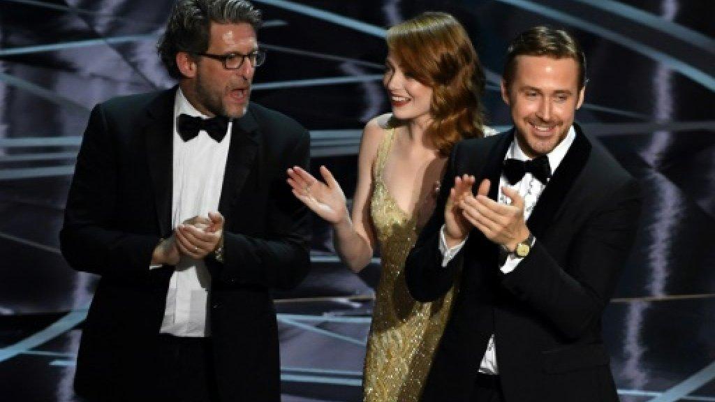 'La La Land' dance coach on Gosling's Oscars giggles
