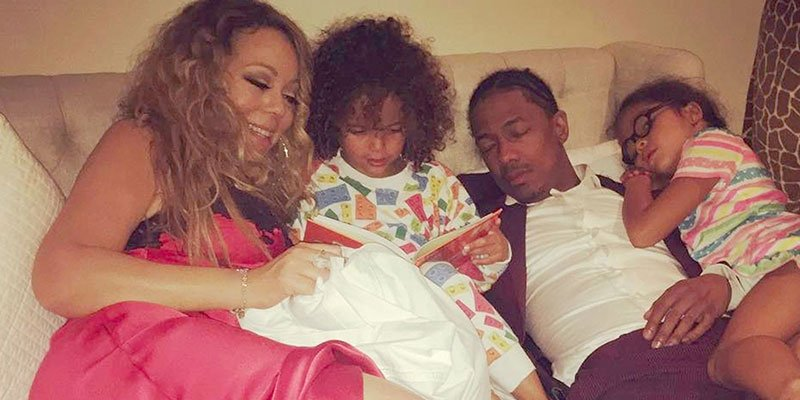 Too cute! Mariah Carey reads her kids (and Nick Cannon) bedtime stories