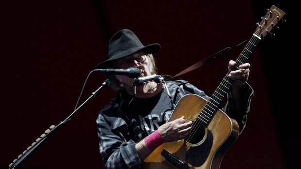 Neil Young joins streaming music with high-fidelity Xstream service
