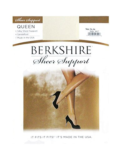 #fashion #free #style #win #giveaway Berkshire Women's Plus-Size Queen Silky Sheer Support Pantyhose