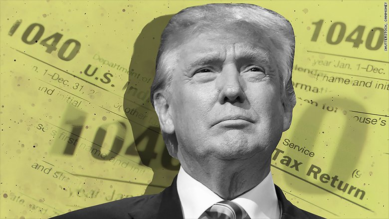 Trump's tax returns are the target of nationwide protests on Saturday