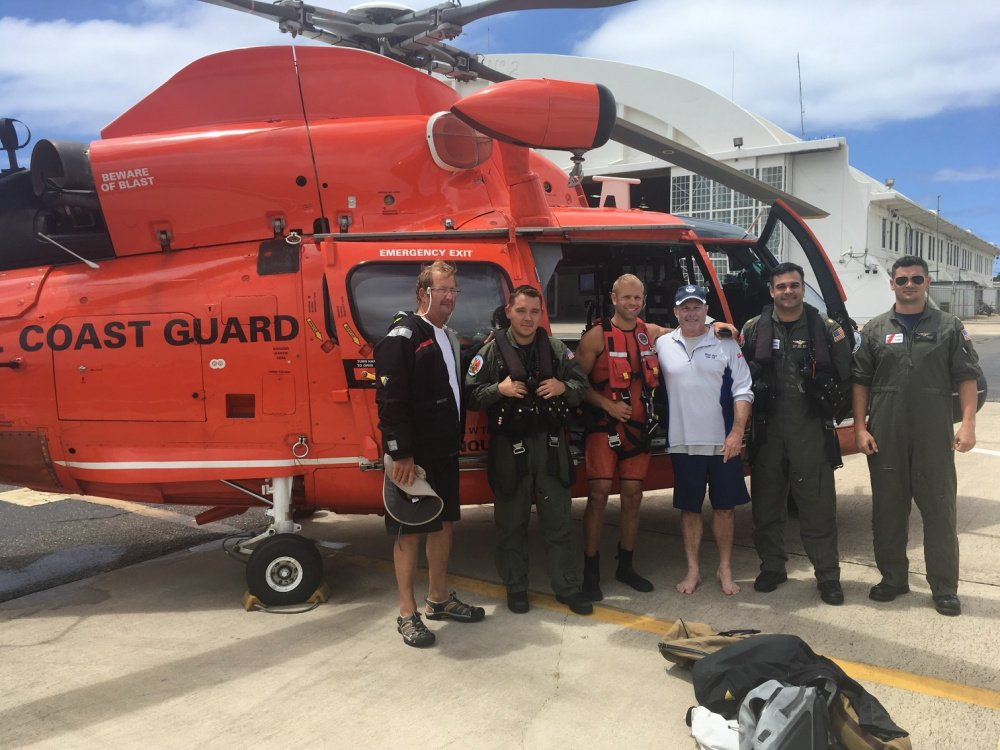 Coast Guard rescues N.H. fisherman in Caribbean | New Hampshire