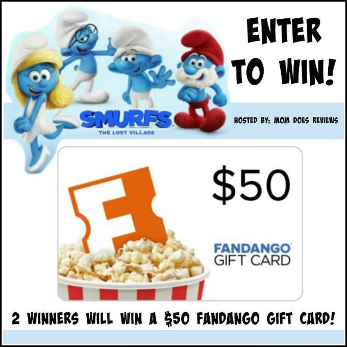 $50 Fandango GC (2 Winners)-US-Ends 4/20