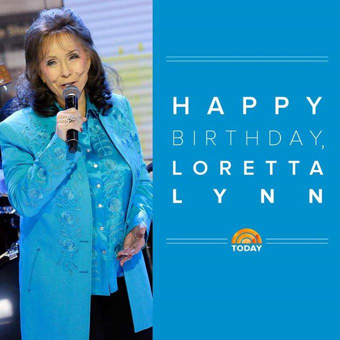 Happy 85th birthday, Loretta Lynn Official!