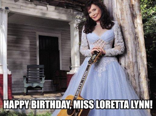 New Popalooza Post! Pop Legends: Happy 85th Birthday, Miss Loretta Lynn