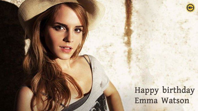 Happy birthday to Emma Watson!!!