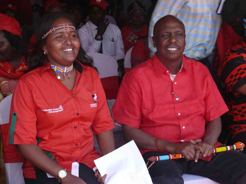 Stop hiding behind cultural practices to campaign against me, says Lesuuda