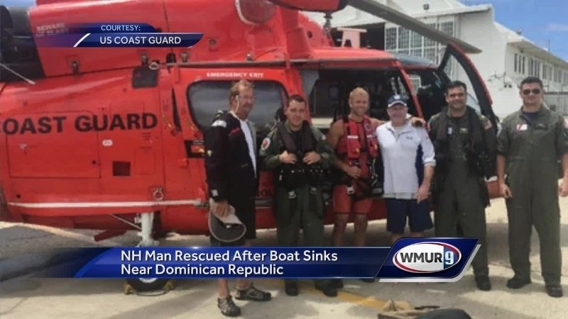 NH man rescued after boat hits reef off Dominican coast