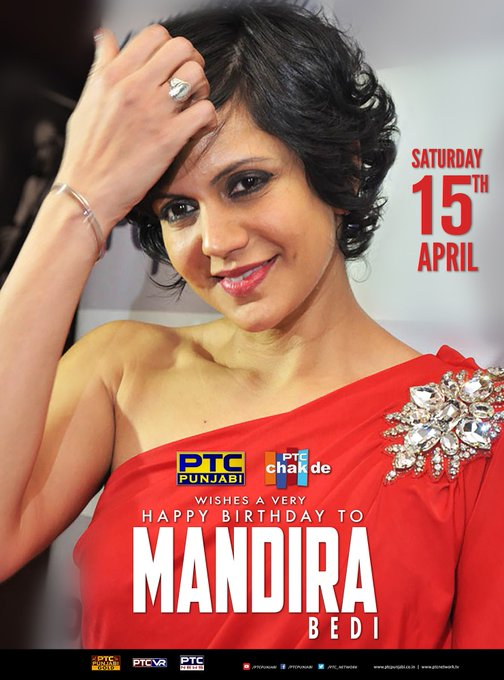 wishes a very happy birthday Mandira Bedi.