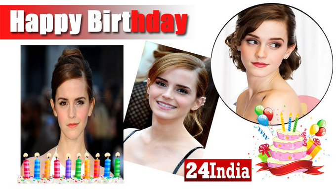 Happy Birthday to  Emma Watson -