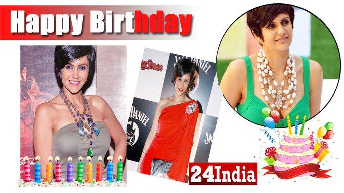 Happy Birthday to Mandira Bedi -