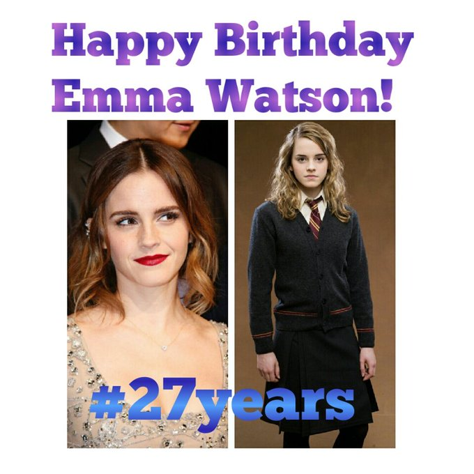 Happy Birthday Emma Watson!