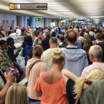 Brit tourists faint in huge queues at Palma airport after 'increased security checks' imposed during Easter holiday getaway