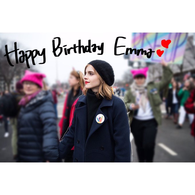 Happy birthday Emma Watson  I love you
