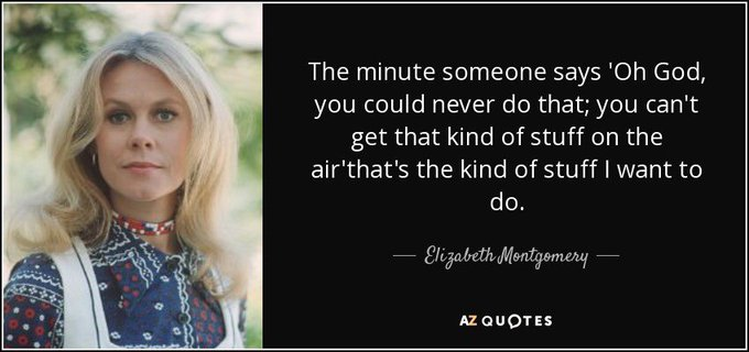 Happy birthday to the late Elizabeth Montgomery!