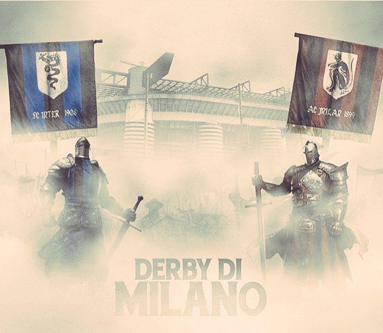 #DerbyMilano