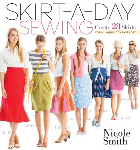 #fashion #free #style #win #giveaway Skirt-a-Day Sewing: Create 28 Skirts for a Unique Look Every Day #rt