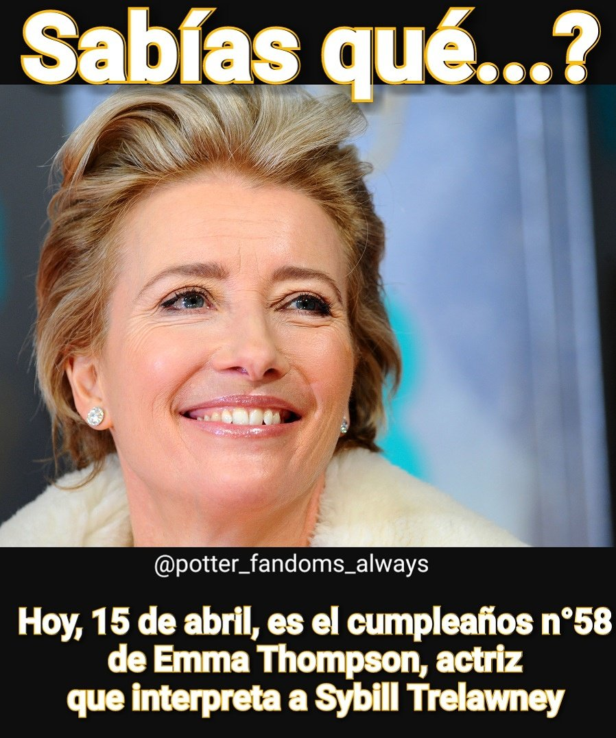 Happy birthday Emma Thompson!!