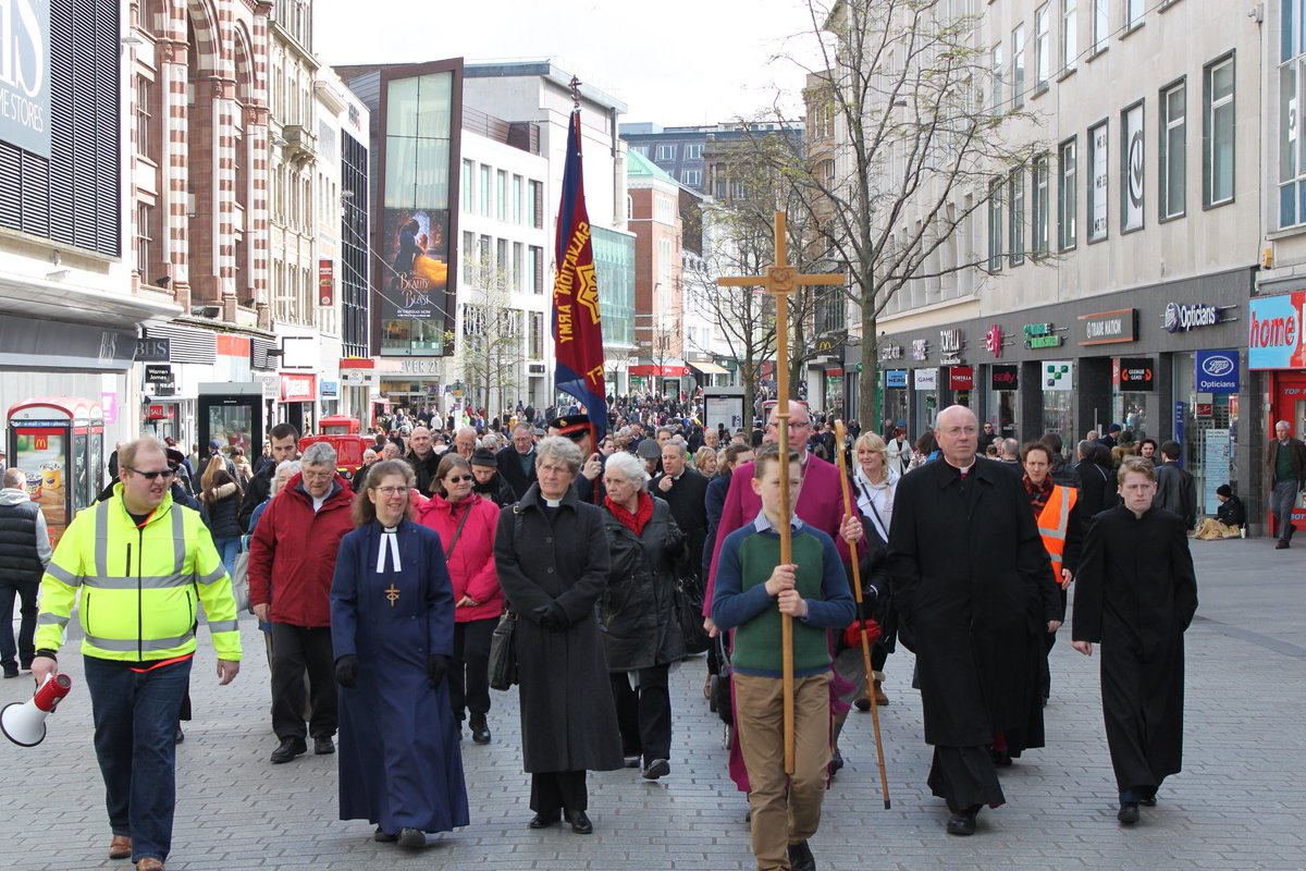 test Twitter Media - Pictures from Liverpool's Holy Saturday Walk of Witness https://t.co/l0y7oajjiz https://t.co/g5AsQpPcqN