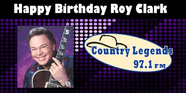 Happy Birthday To Roy Clark Who Was Born On This Day In 1933!