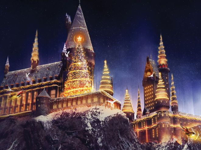 Universal Orlando is introducing a Christmas experience at its HarryPotter park! ??