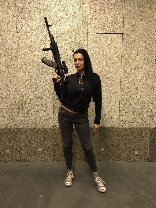 Kalashnikov. My first time in the Celeritas shooting club https://t.co/HJWS5BZahj
