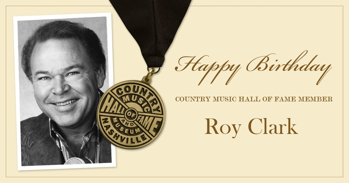 It\s a good day when it\s Roy Clark\s birthday! Join us in wishing this member a very happy birthday!