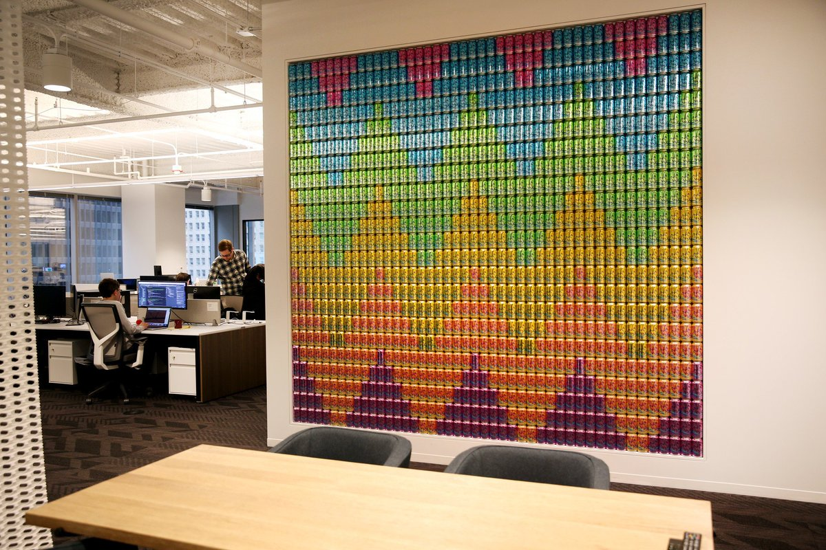 Office offbeat interior design Fice Photos 10 Offbeat Works Of Art In Chicago Offices yes Thats Giant Daleslocksmithcom Photos 10 Offbeat Works Of Art In Chicago Offices yes Thats