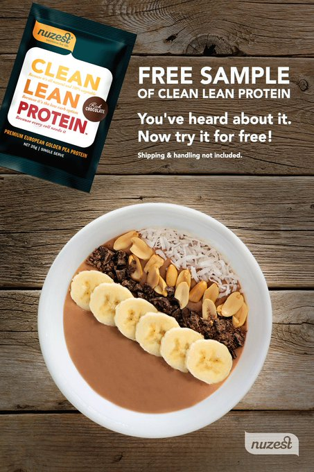 Want to try Nuzest for FREE? Sign up here! free freebie protein vegan glutenfree