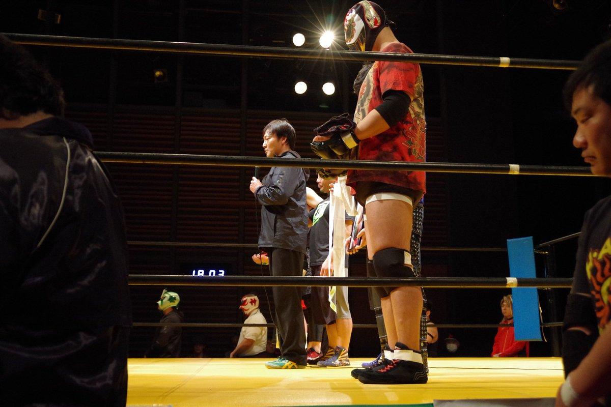 野村隆男さん(梨本真也/二本松太郎)追悼セレモニー。 #デワプロ