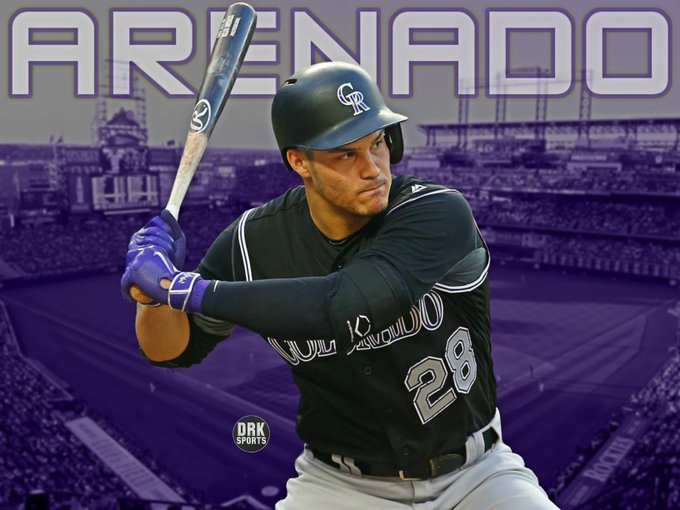 Happy 26th Birthday to one of my favorite baseball players, 2x All-Star and 4x Gold Glover Nolan Arenado!