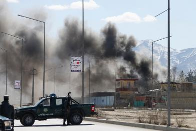 The US military bombed ISIS in Afghanistan, but the Taliban are winning the war