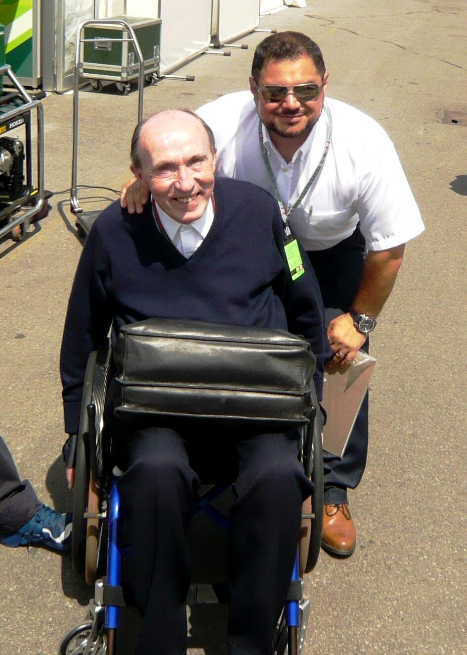 Finally, happy 75th birthday to a man who holds a special place in my heart. Sir Frank Williams