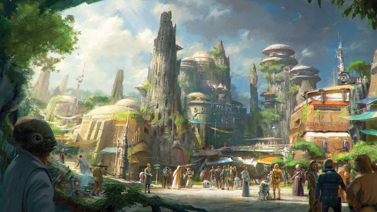 "Guests will be able to ""build a reputation"" at new Star Wars Land attractions at Disneyland"