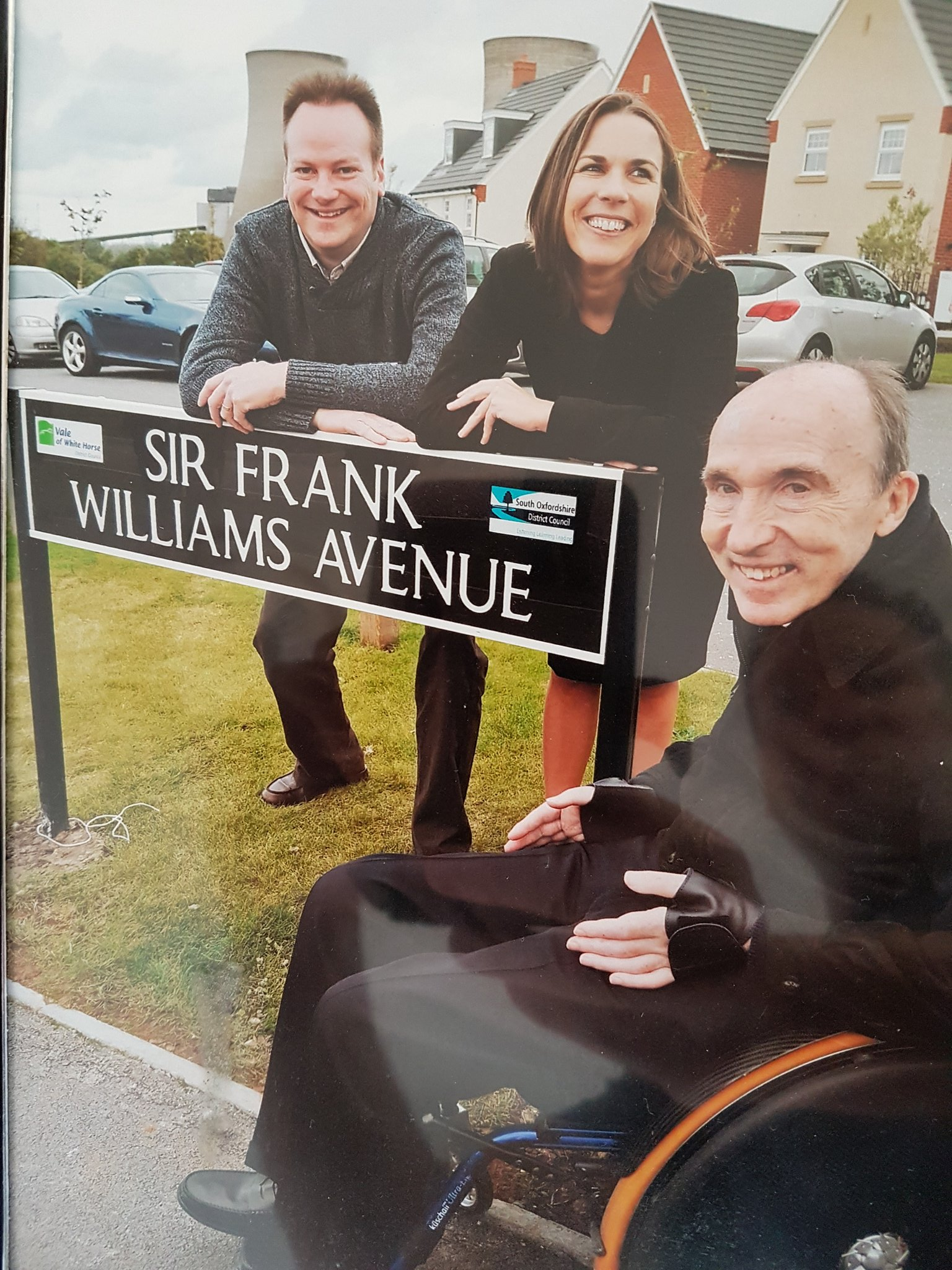Happy birthday to Frank Williams. There is NO tougher man in F1!