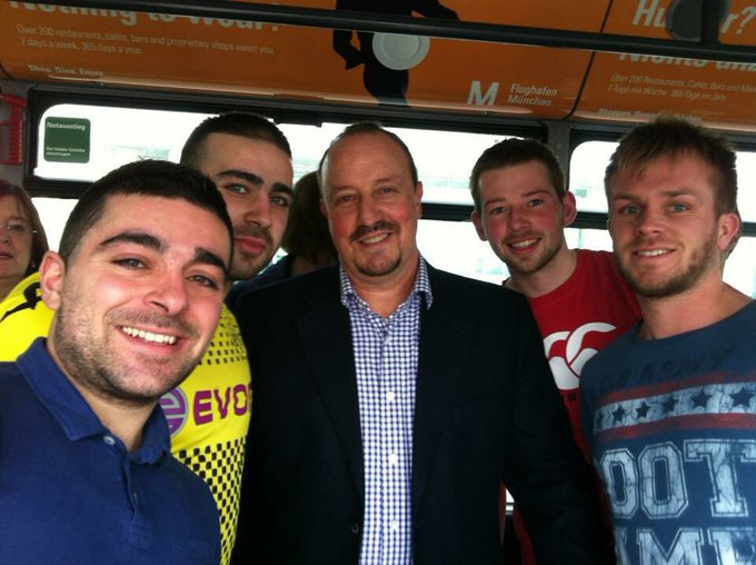 Happy birthday Rafael Benitez!