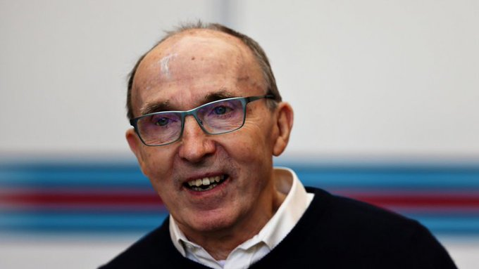 Happy birthday to the beautiful man, the big boss Sir Frank Williams!