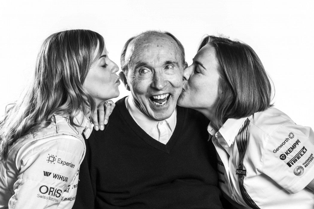 Happy 75th Birthday to Sir Frank Williams
