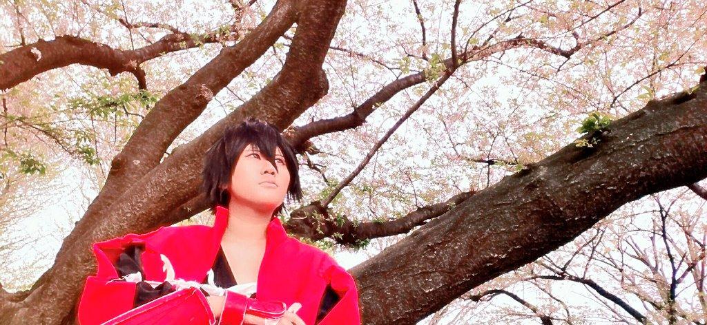 桜でパシャリ#ドリフターズ#drifters