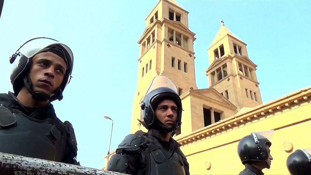 Tight security for Easter at Egypt's Christian churches
