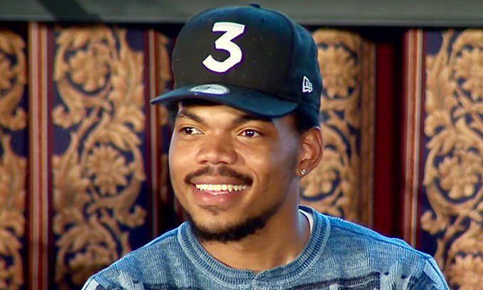 "HAPPY BIRTHDAY... CHANCE THE RAPPER! ""ACID RAIN\""."