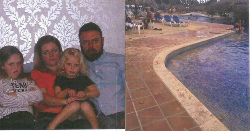 Family's trip to Dominican Republic turns into 'Fawlty Towers' nightmare when they all fall ill and are left without sheets in filthy hotel