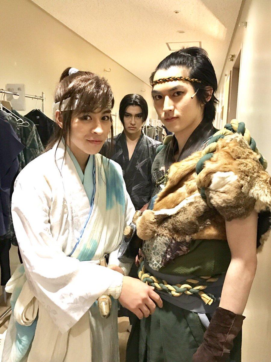 里見八犬伝の発祥の地【館山】で初舞台を踏ませてもらう事ができて、嬉しかったです✨‼️実力のある先輩方と共に見た舞台上での