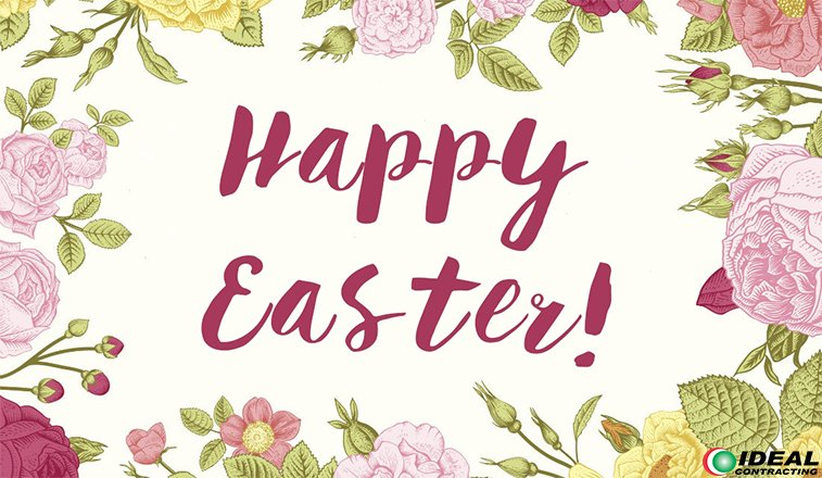 test Twitter Media - Ideal Contracting wishes everyone a SAFE and Happy Easter! https://t.co/zUuvE6t4vp