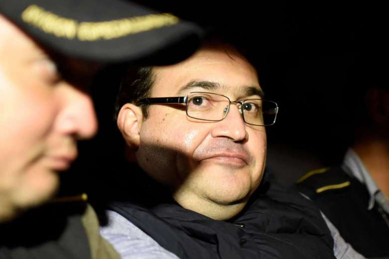 Fugitive Mexican ex-governor held in Guatemala