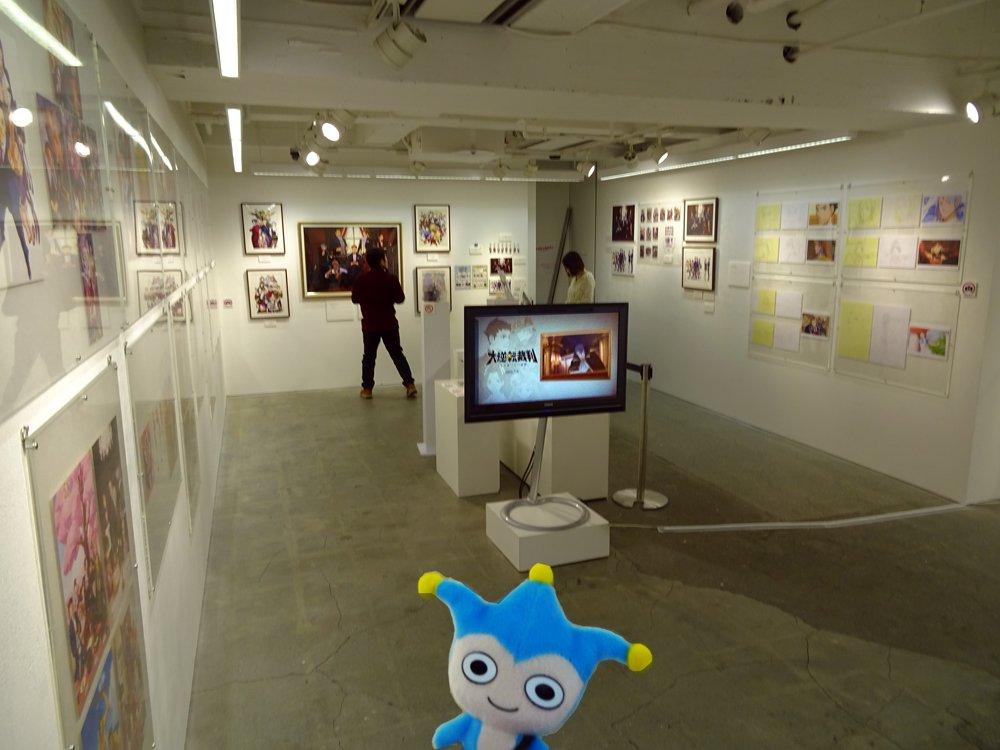 【逆転裁判画廊好評開催中!】『逆転裁判』15周年を記念し、東京・中野のpixiv Zingaroにて開催中の「逆転裁判画