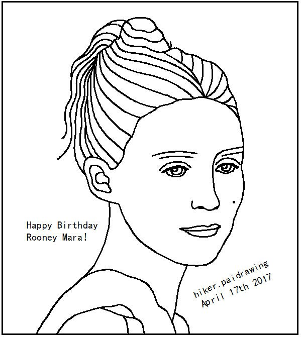 Happy birthday to rooney mara