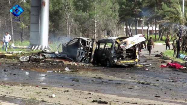 Mass evacuation in Syria to proceed today after deadly blast Saturday kills 126