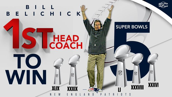 Happy Birthday to Bill Belichick the greatest coach out there !!